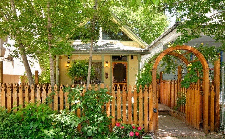 550 sq ft restored historic cottage for Cabins for rent near glenwood springs