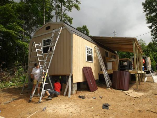 Homeless 83-year-old Widow Gets Tiny Home 014