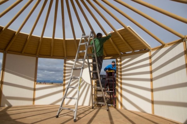How to Build Your Own Freedom Yurt Cabin 0021