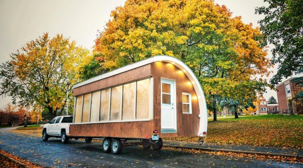 Solar Powered Pod As Prototype For Tiny House, Mobile Office, And More
