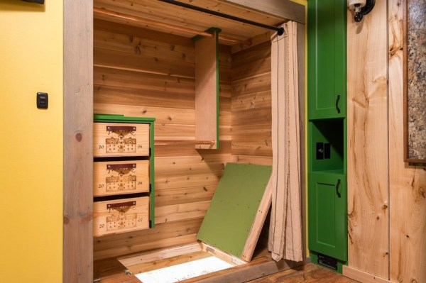 Jerry and Rene Tiny House Escape Hatch
