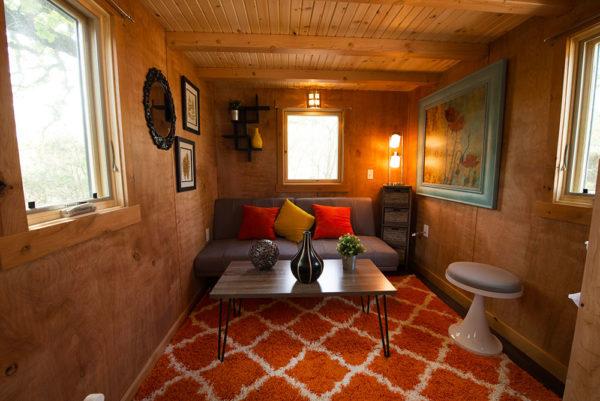 Joy Tiny House On Wheels Rental At Austin S Original Tiny