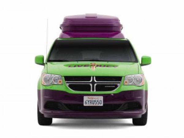 Jucy Dodge Caravan to Motorhome Conversion Camper Mini RV 001