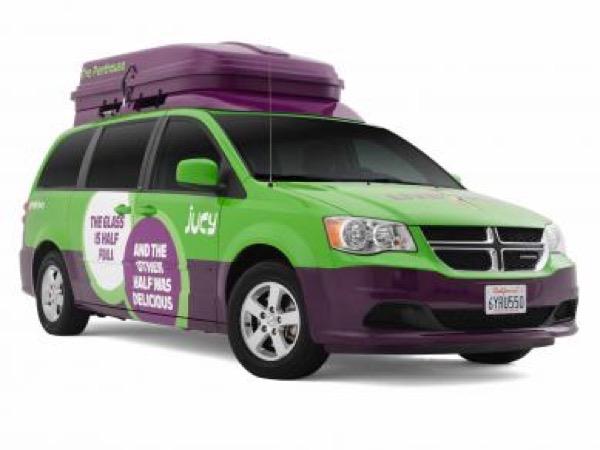 Jucy Dodge Caravan to Motorhome Conversion Camper Mini RV 0011