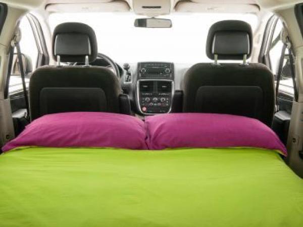 Jucy Dodge Caravan to Motorhome Conversion Camper Mini RV 0015