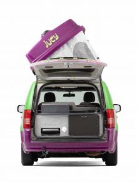 Jucy Dodge Caravan to Motorhome Conversion Camper Mini RV 0017