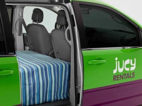 Jucy Dodge Caravan to Motorhome Conversion Camper Mini RV 0019