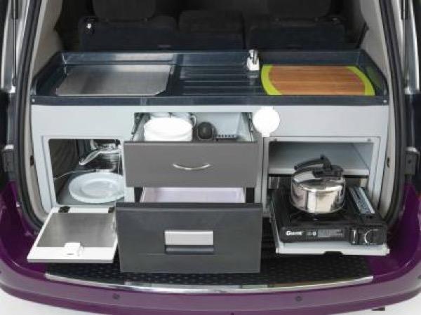 Jucy Dodge Caravan to Motorhome Conversion Camper Mini RV 007