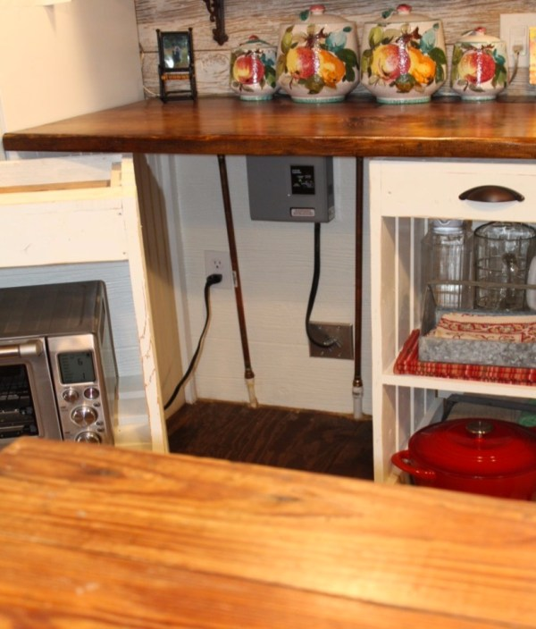 Cottage Kitchen Law Texas: Kathy's 16' X 28' Tiny Cottage In Texas
