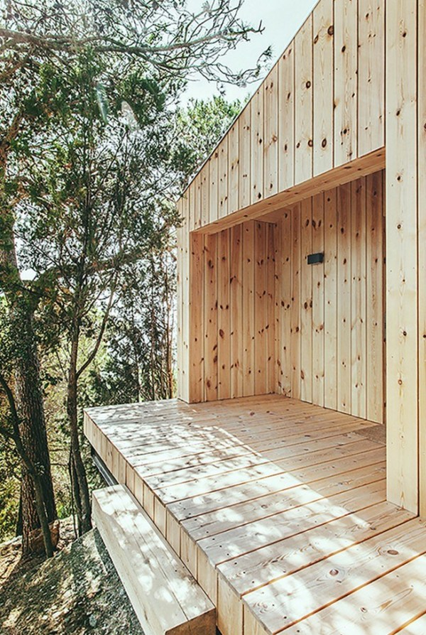 La Casa De Madera by Dom Arquitectura 0010