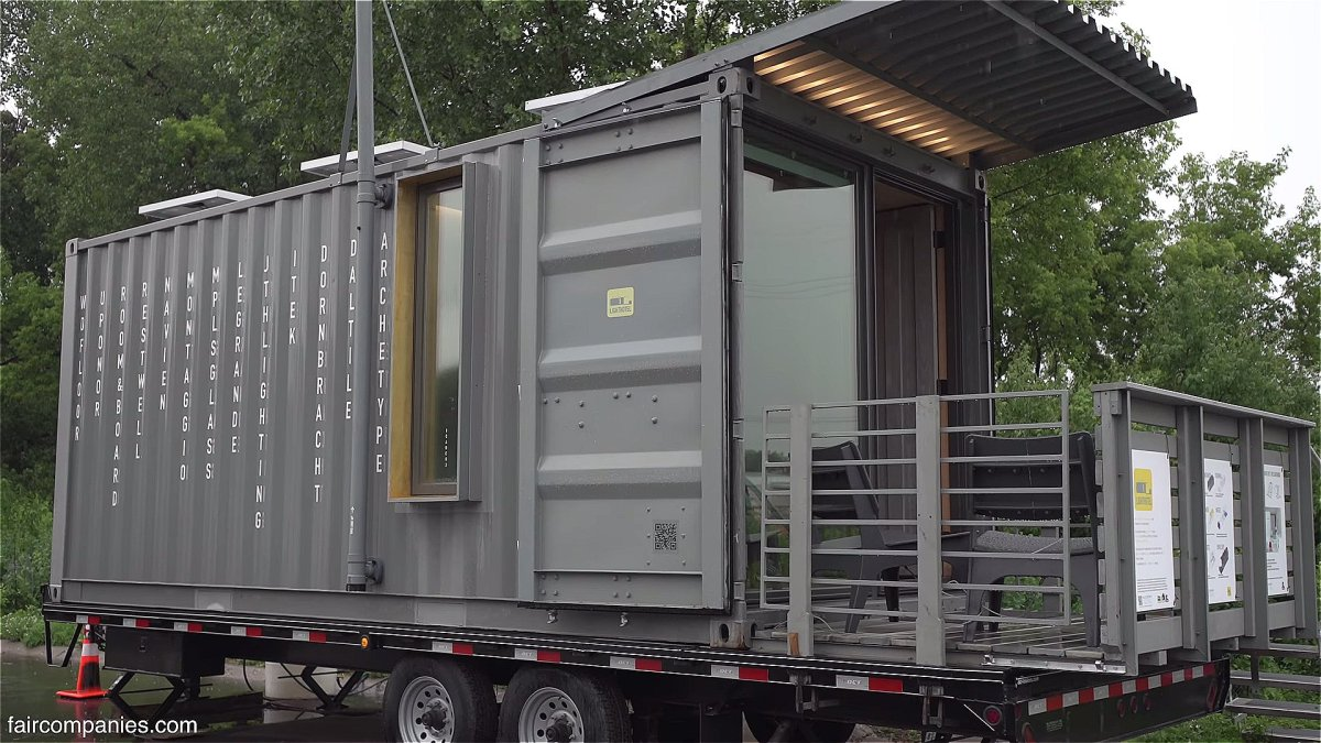 Minnesota architect turning shipping containers into for Shipping containers for sale in minnesota