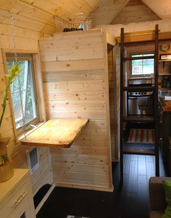 Pop Up Table, Kitchen, Ladder and Sleeping Loft
