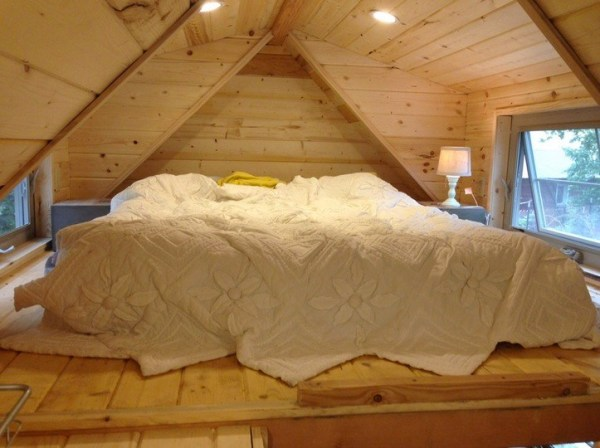 Cozy Sleeping Loft with Dormers and Windows