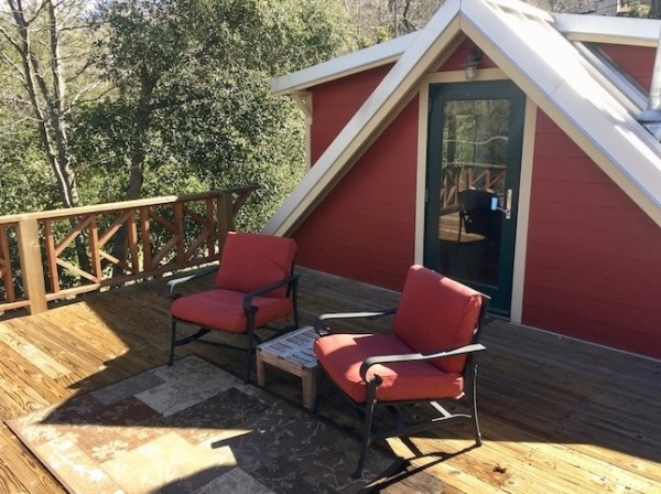 Little Red Cabin with a Metal Roof in Julian CA For Sale 008