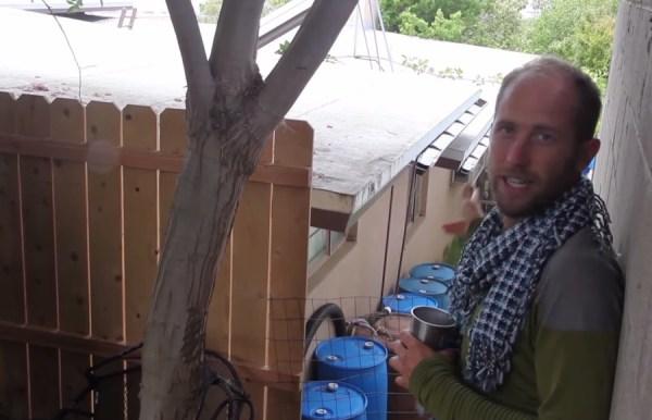 Man Simplifies into Off-Grid Micro Cabin Life in California 0012