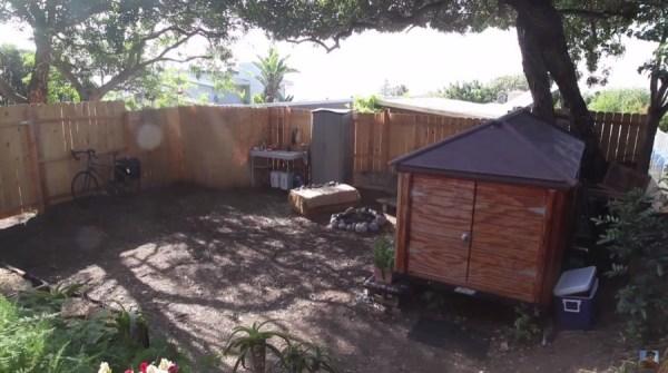 Man Simplifies into Off-Grid Micro Cabin Life in California 0028