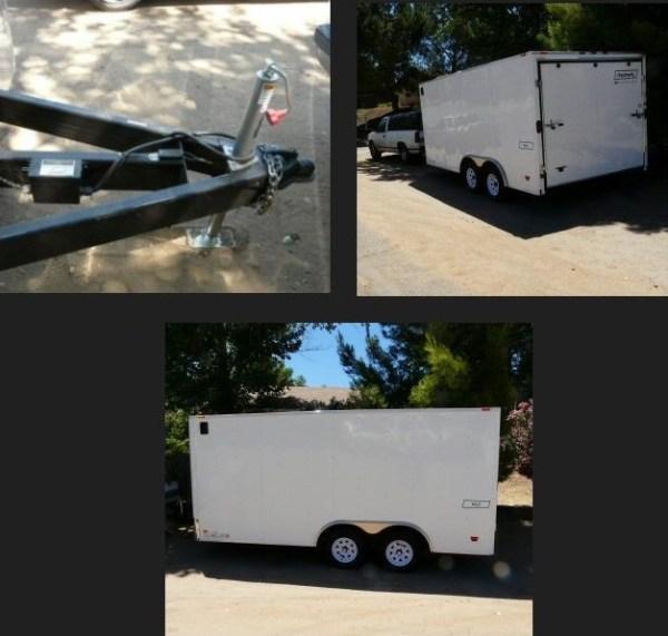 Mans DIY Stealth Cargo Trailer Tiny House 0017