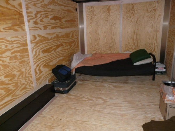 Mans DIY Stealth Cargo Trailer Tiny House 003