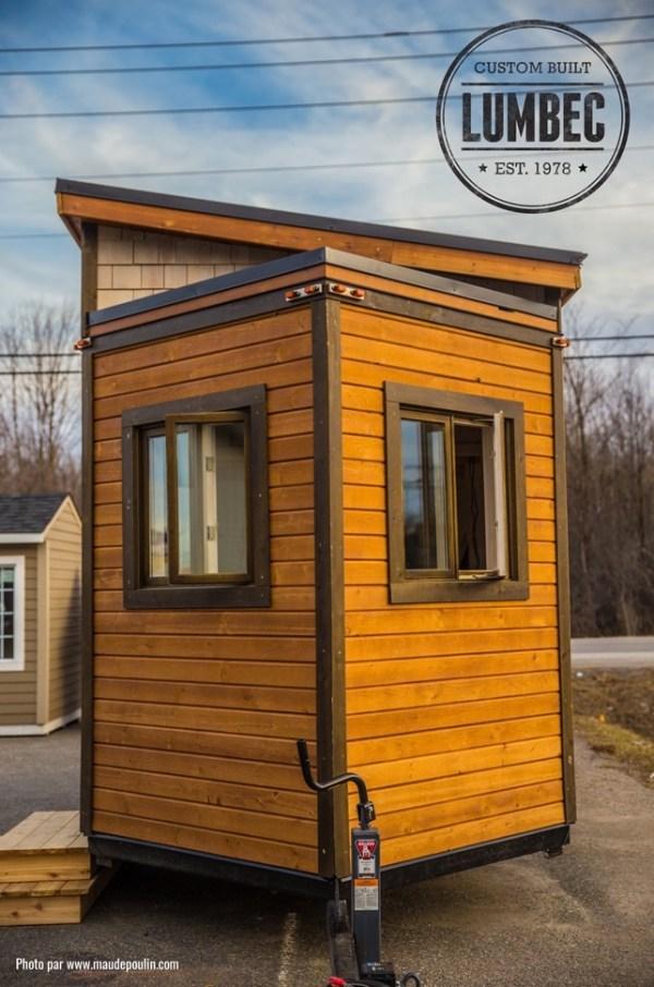 Micro Lumbec Tiny House on Wheels 0013