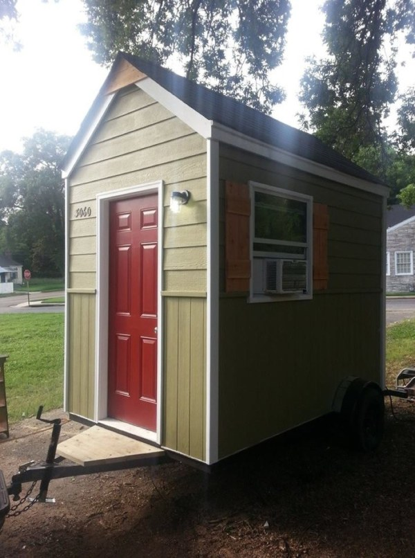 micro home.  Reverend to Build Micro Home Community for Homeless