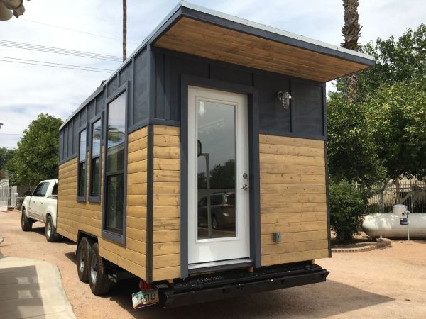Modern Industrial Tiny House 002