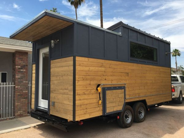 Modern Industrial Tiny House 003