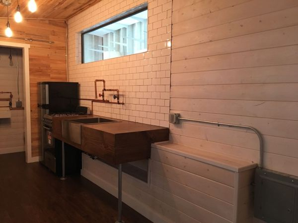 Modern Industrial Tiny House 006