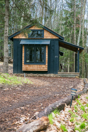This Tiny Cabin In The Redwoods Is The Perfect Getaway For: MoonShadow Tiny Vacation Cabin At Blue Moon Rising