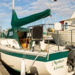 Mother Goose sailboat exterior