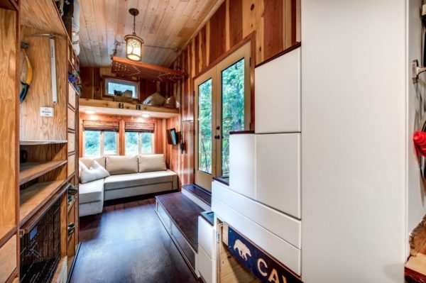 Mountaineer Tiny Home with Rooftop Deck 005