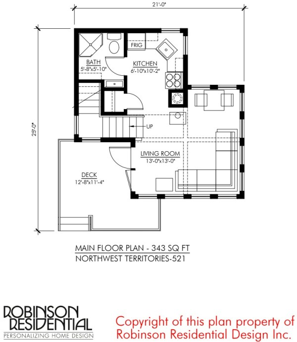 Small House Design: North West Territories by Robinson Residential