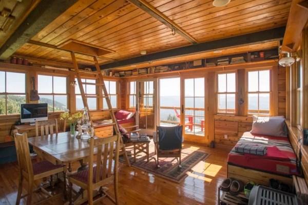 Off Grid Lookout Tower Cabin In Tiller