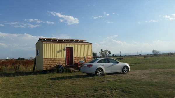 Off Grid Tiny House For Sale with Parking Deal in Thornton Colorado 001