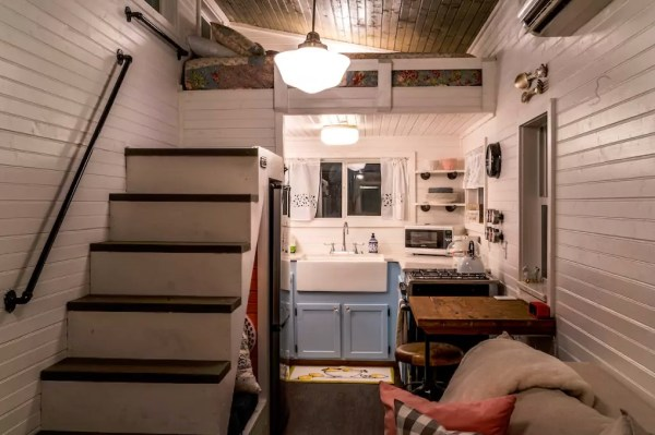Old Blue Chair Tiny House with Dutch Doors 004