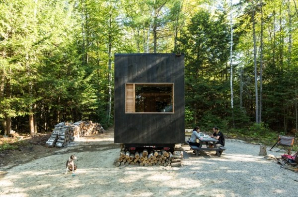 Tiny House on Wheels Vacation in Boston by Millenial Housing Lab and Getaway House 005