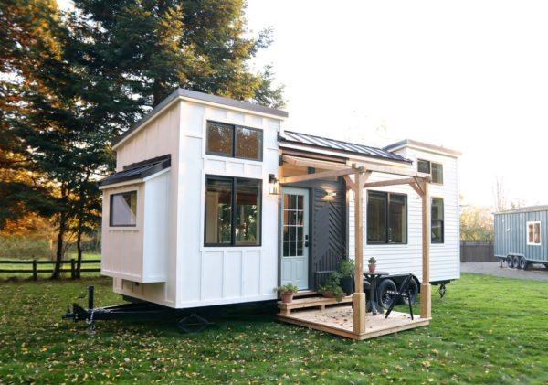 28ft Pacific Harmony Tiny House On Wheels