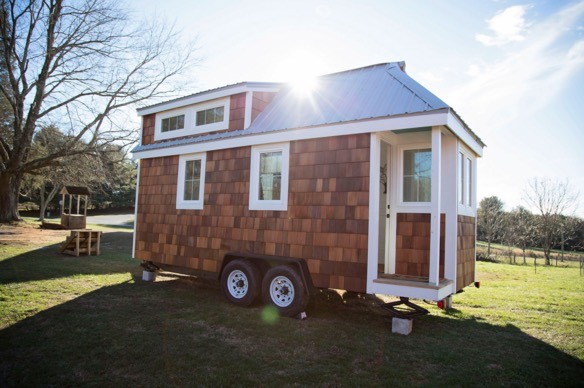 The pecan tiny house on wheels for sale for Pecan house