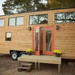 Peponi Rustic Cedar Tiny House on Wheels