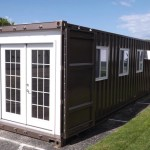 Prefab Shipping Container Tiny Home on Amazon 001