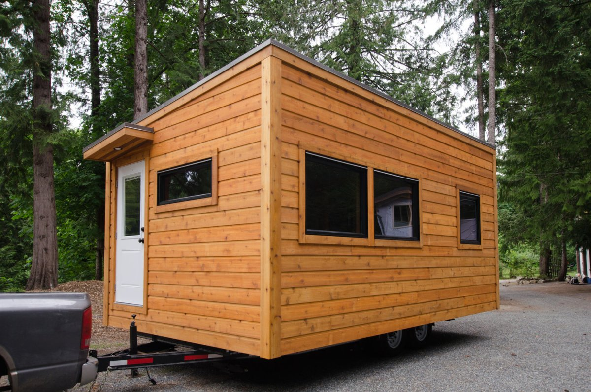 The ptarmigan 12 ft wide single floor thow for One level tiny house