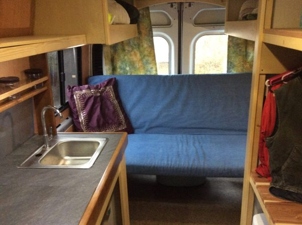 Ram Promaster Cargo Van Conversion Tiny House Style by Yahinihomes 005