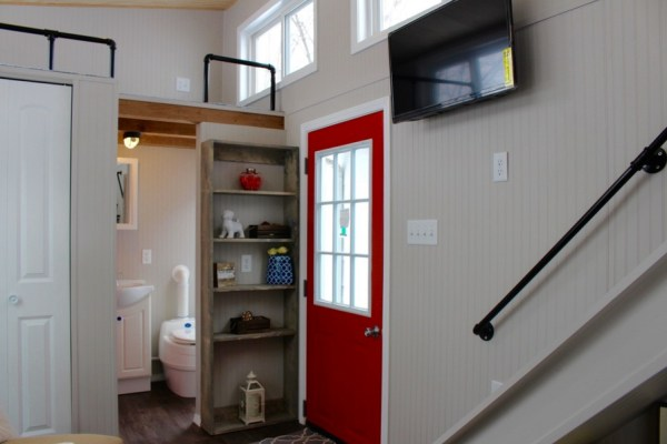 Relax Shack Red Tiny House on Wheels by Mini Mansions 0016
