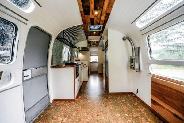 Renovated Airstream by Wind River Tiny Homes
