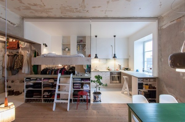 387 Sq. Ft. Renovated Apartment in Sweden