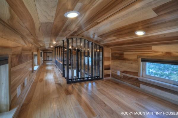 The Pemberley 37' Gooseneck Tiny House from Rocky Mountain Tiny Houses