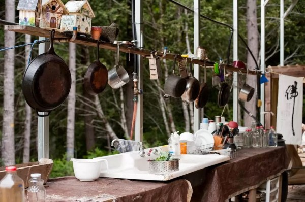 Rustic Off-Grid A-frame Vacation 004