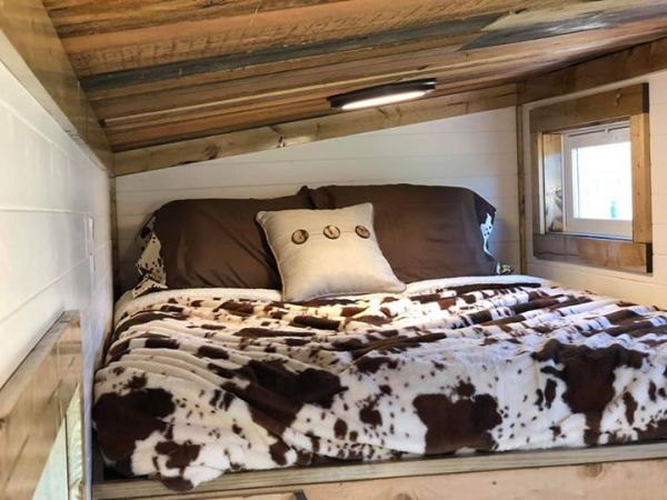 Rustic Western Tiny House on Wheels by Heartland Tiny Homes For Sale 0011