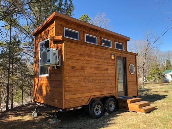 Rustic Western Tiny House on Wheels by Heartland Tiny Homes For Sale 005