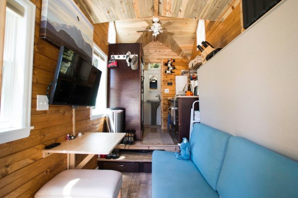Ryan's 131 Sq Ft Tiny House in Colorado 004