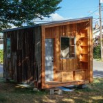 Sawhorse Revolution Salvaged Material Tiny House for the Homeless